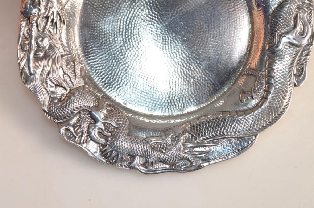 Samurai Shokai Yokohama; Japanese Sterling Silver Plate - 4