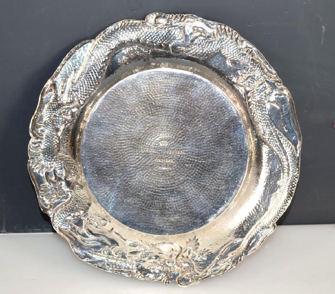 Samurai Shokai Yokohama; Japanese Sterling Silver Plate - 5