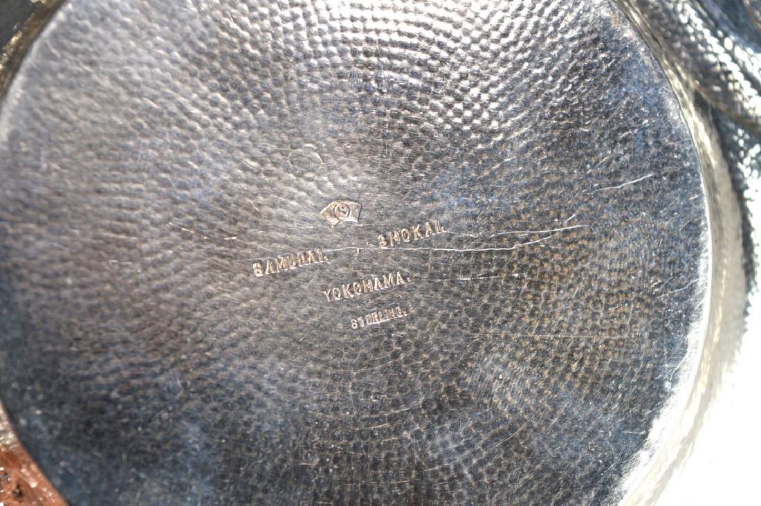 Samurai Shokai Yokohama; Japanese Sterling Silver Plate - 6