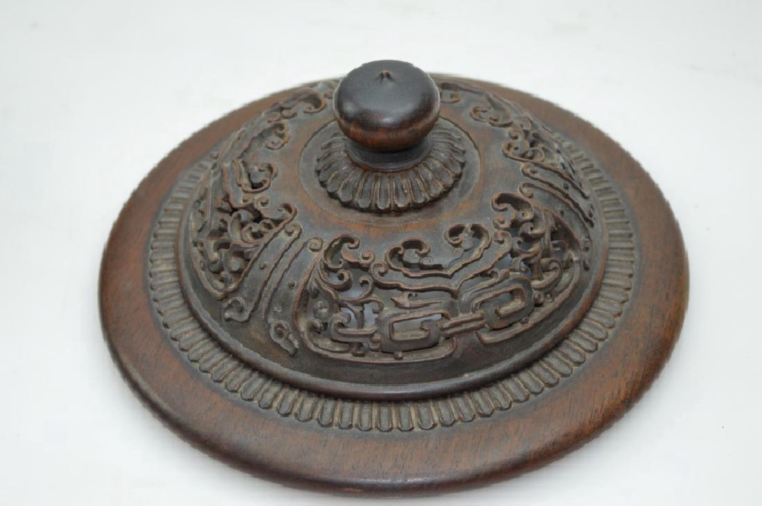 Lg Chinese Transitional Wucai Porcelain Jar - 10