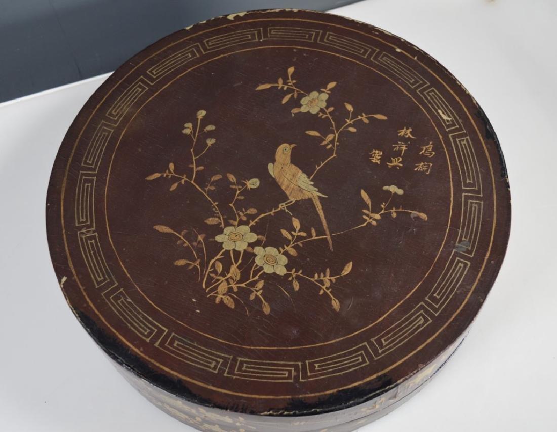 Qing Chinese Goldfish Sweetmeat Porcelain Set; Box - 9