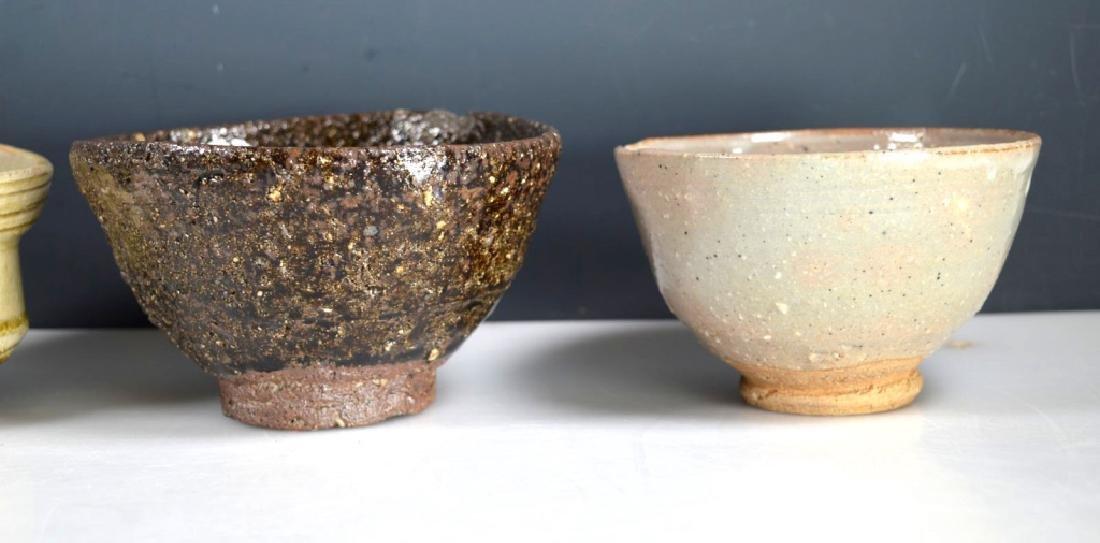 8 Antique Japanese Tea Ceremony Tea Bowls - 6