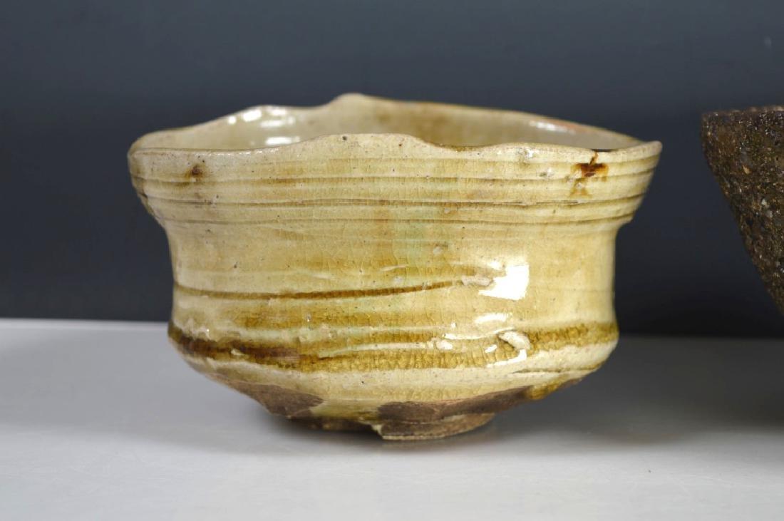 8 Antique Japanese Tea Ceremony Tea Bowls - 7