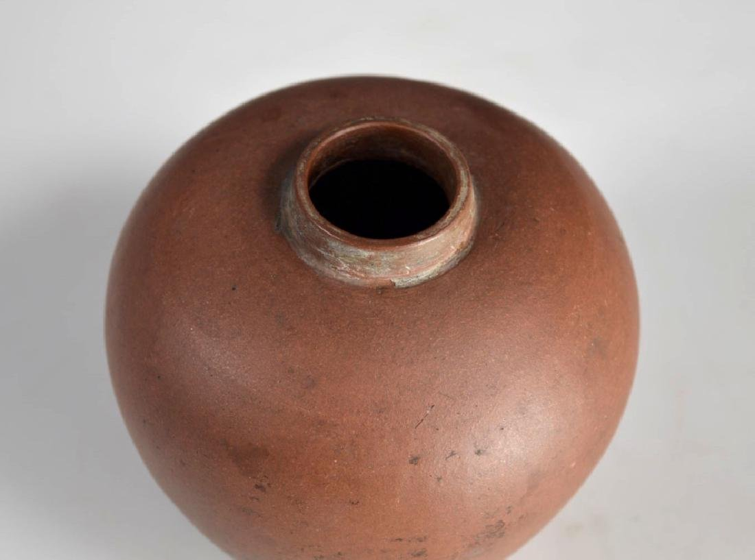 Rare 18/19 C Chinese Yixing Tea Caddy - 2