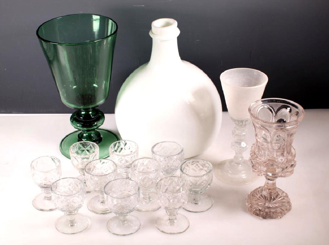 Group 14 Rare European 17-19 Century Glass