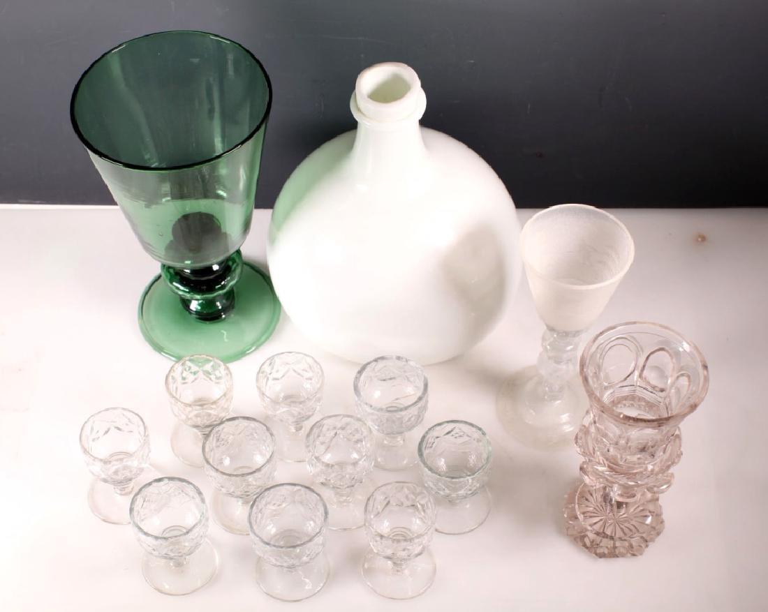 Group 14 Rare European 17-19 Century Glass - 2