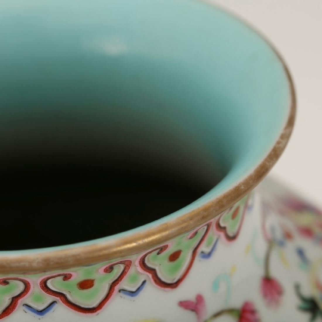 Chinese 19th C Famille Rose Enameled Porcelain - 3