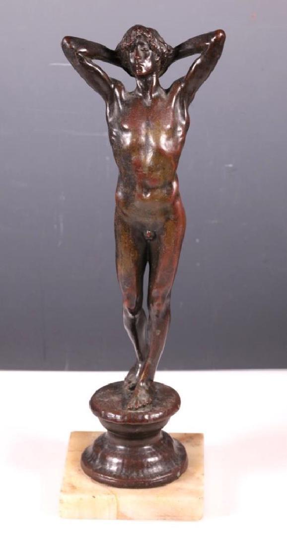 Mrs. Cadwalader Guild: Endymion, Bronze ca. 1900