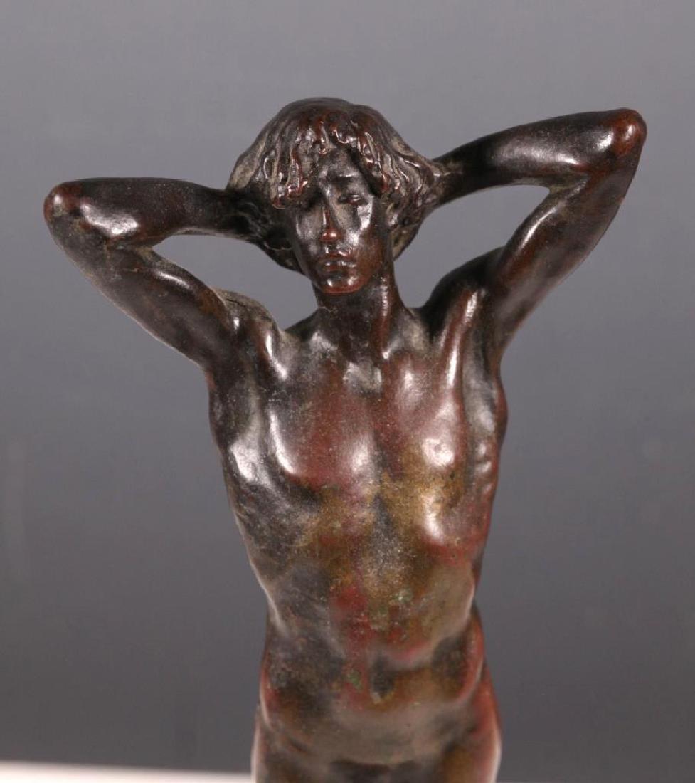 Mrs. Cadwalader Guild: Endymion, Bronze ca. 1900 - 4