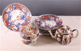 8 Japanese Porcelains 17/18 Century Arita Imari