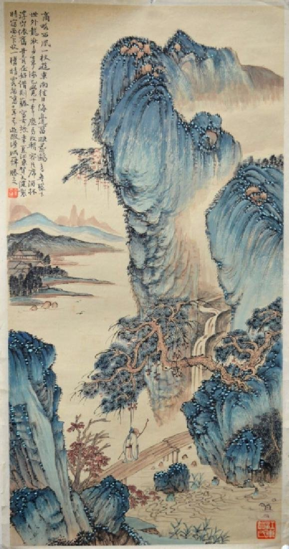 He Tianjian: Chinese Color Landscape Painting
