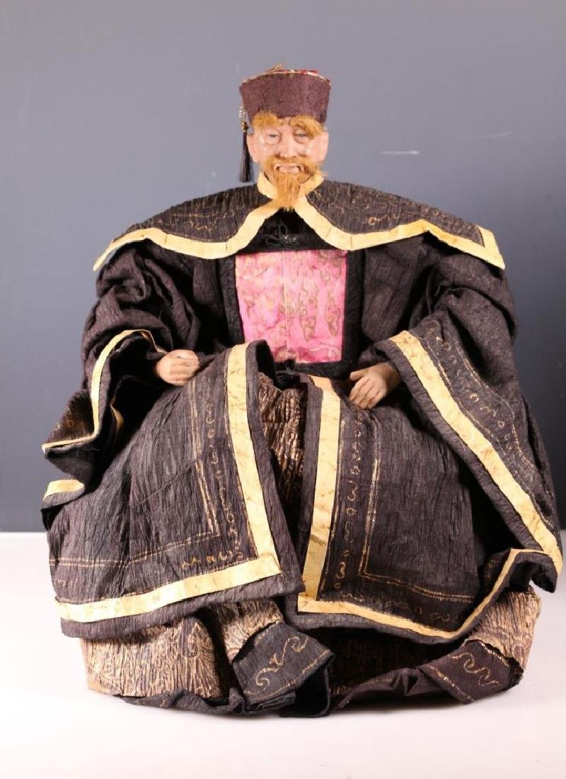 4 Antique Chinese Dolls - 2