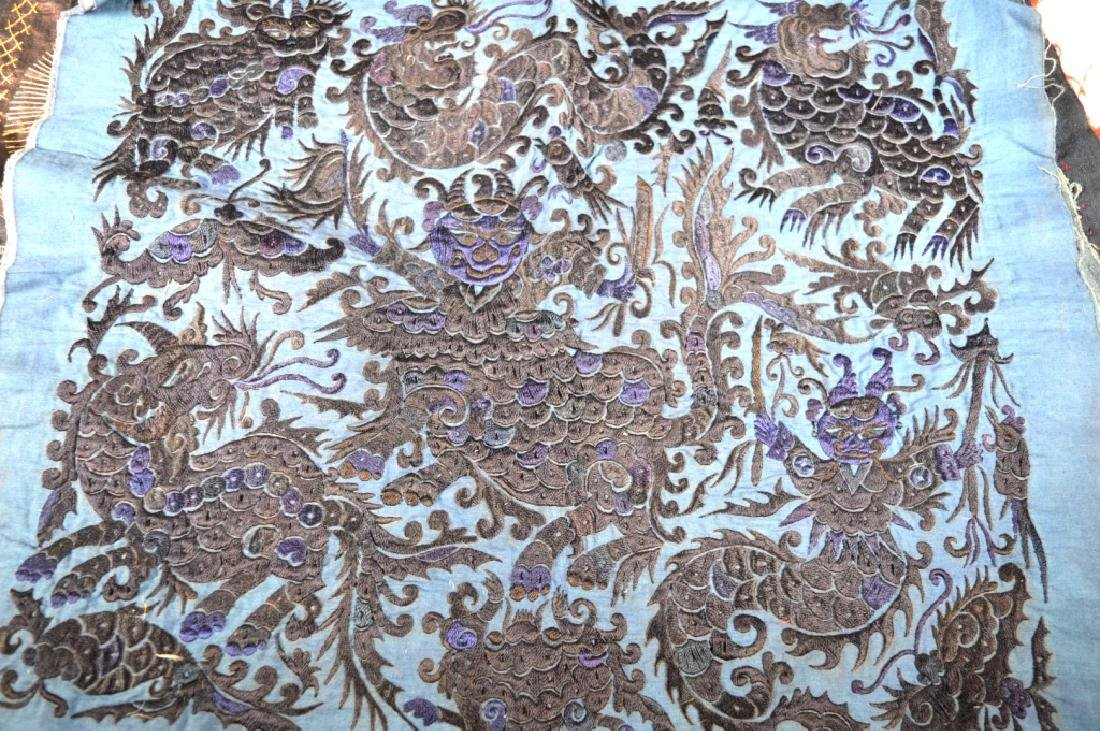 Group of 9Central Asian & SE Asian Embroideries - 3