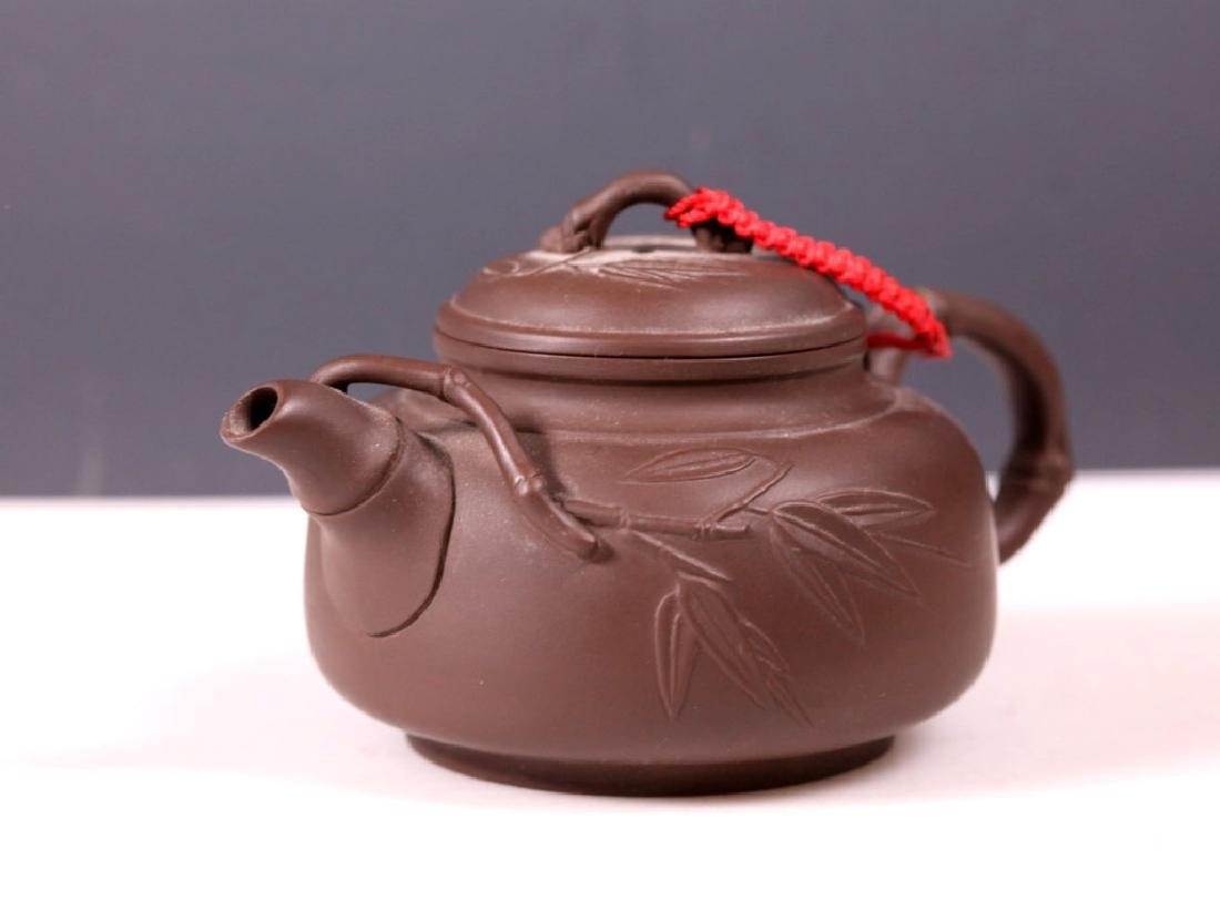 Group 5 Yixing Teapots; 4 Purchased Yixing 1981 - 4