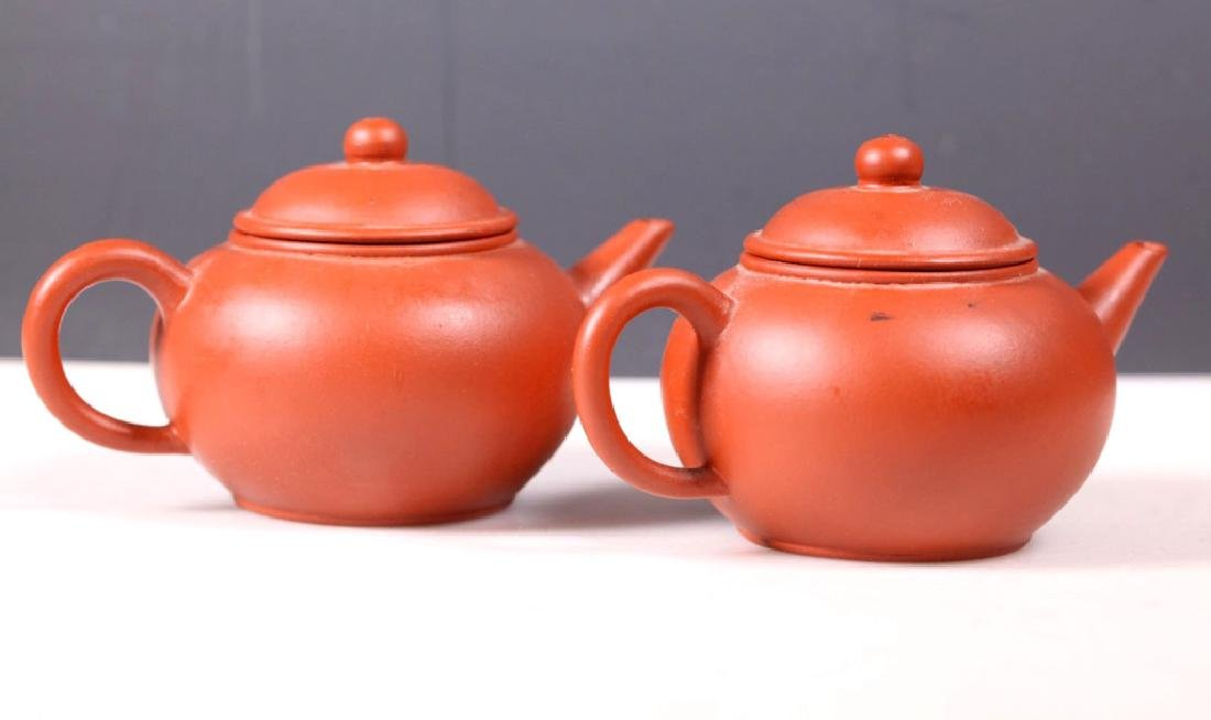 Group 5 Yixing Teapots; 4 Purchased Yixing 1981 - 5