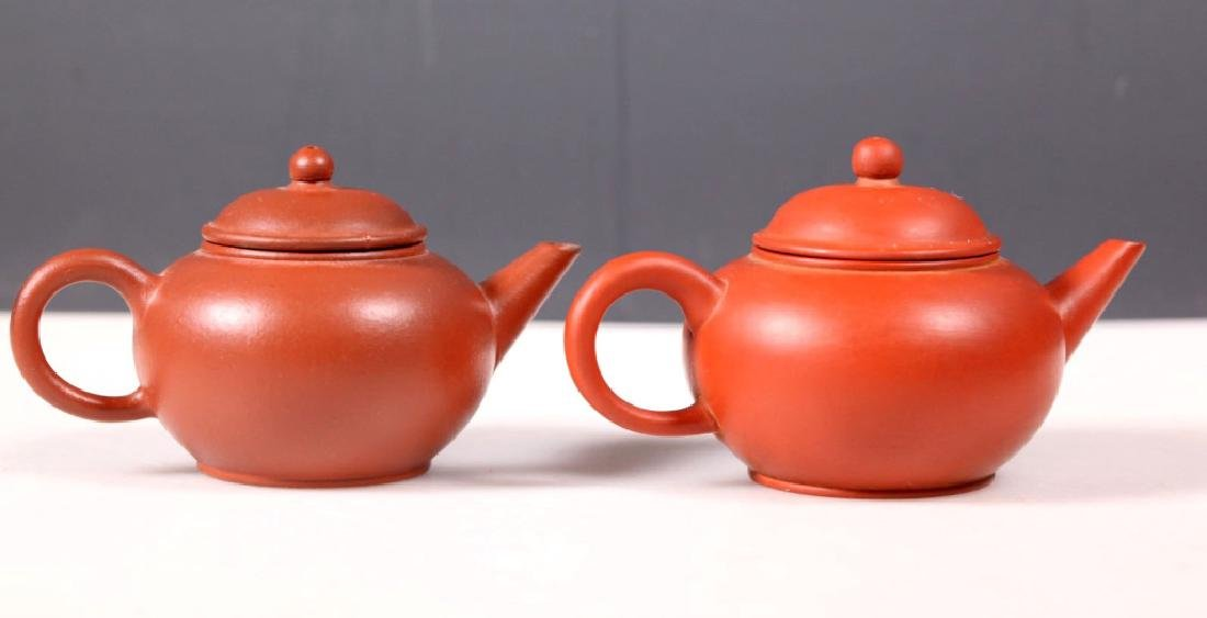 Group 5 Yixing Teapots; 4 Purchased Yixing 1981 - 6