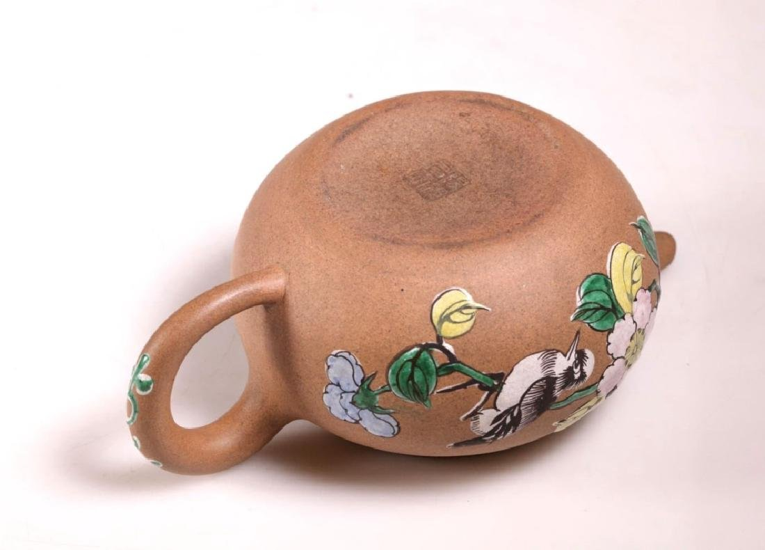 Three Chinese Yixing Teapots - 10