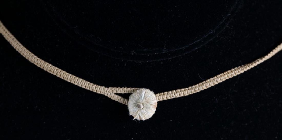 Antique Chinese Translucent Jadeite Bead Necklace - 7