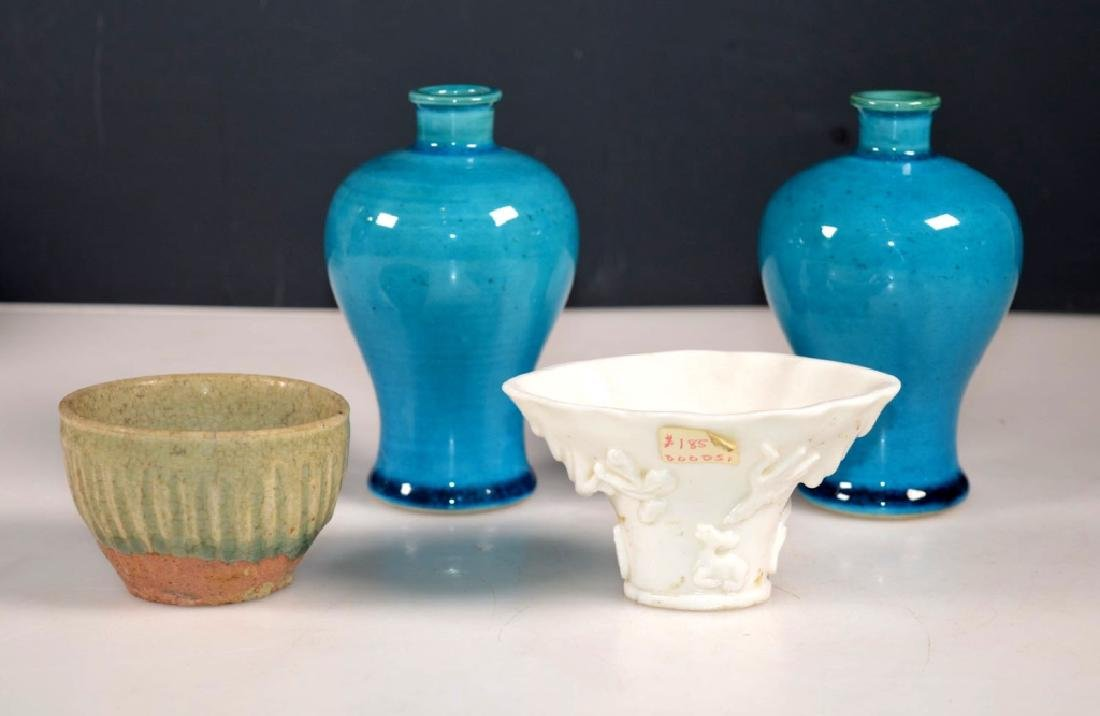 Four 18/19 C Chinese Ceramics