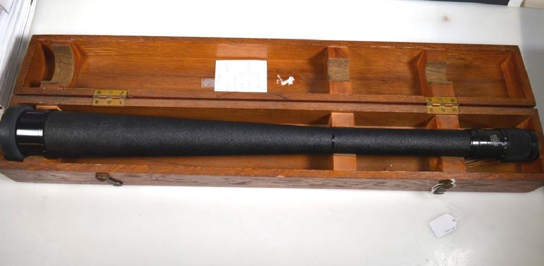 Fee and Stemwedel US Navy Spyglass 1942 Oak Case