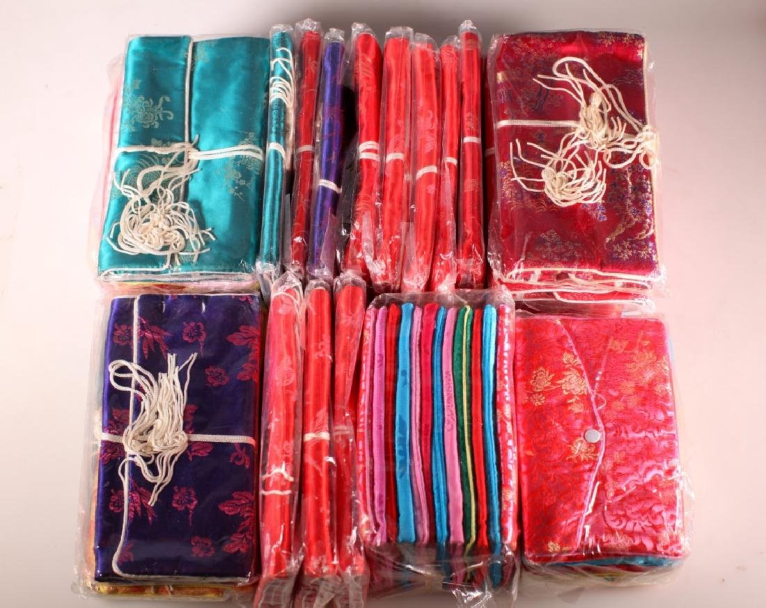 54 Chinese Silk Traveling Jewelry Bags