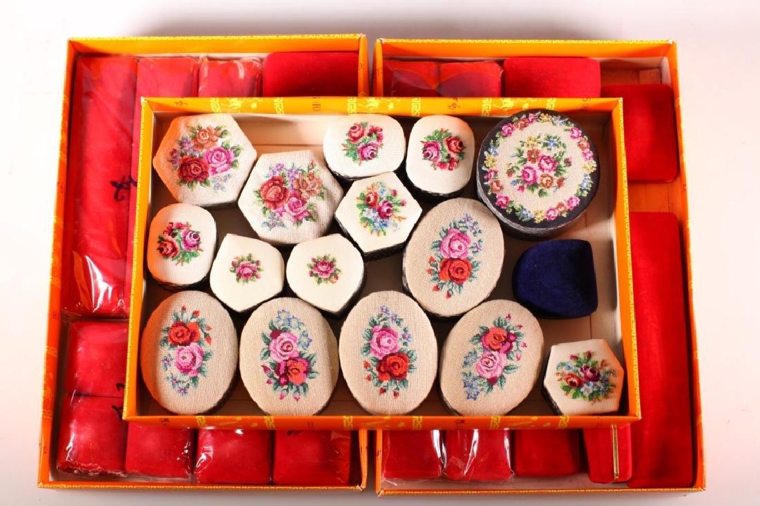 42 Vintage Jewelry Boxes