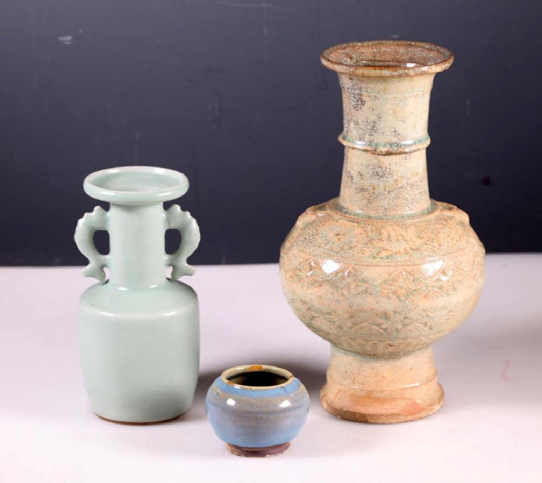 Group Three Antique Chinese Ceramics