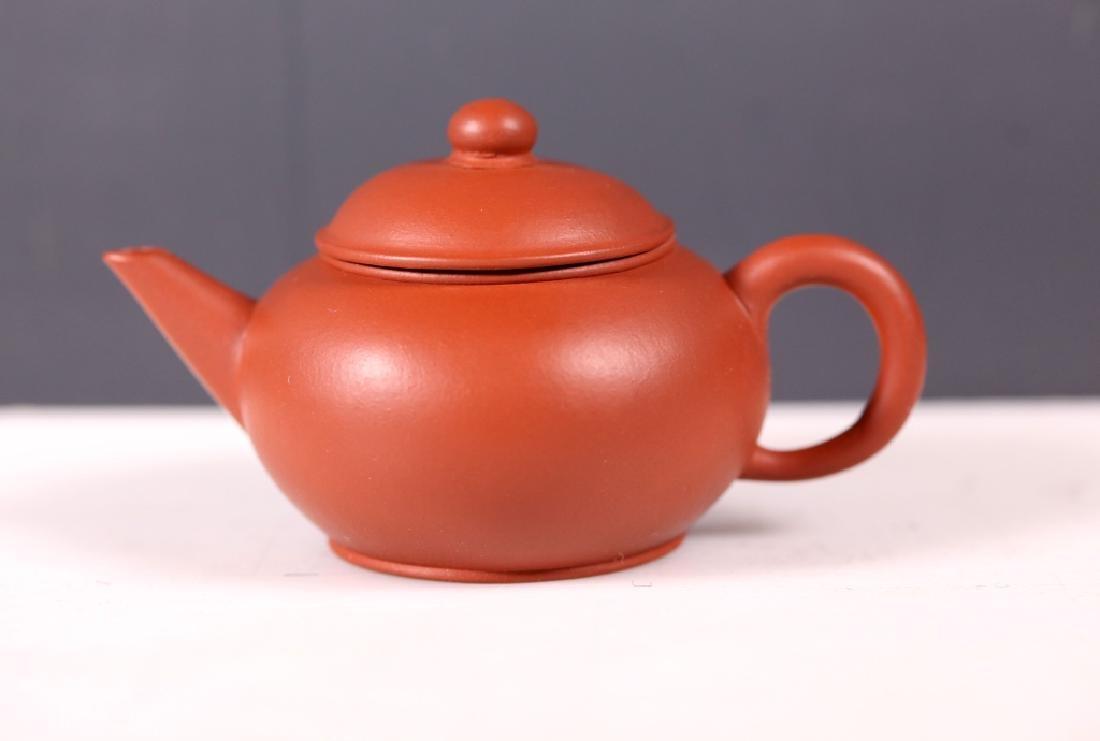 Fine Chinese 19/20 C Yixing Teapot - 2