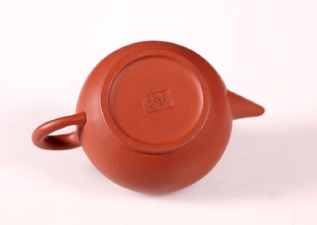 Fine Chinese 19/20 C Yixing Teapot - 4