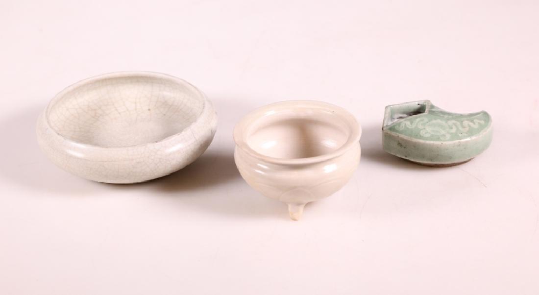 Group of 3 Chinese Ceramics