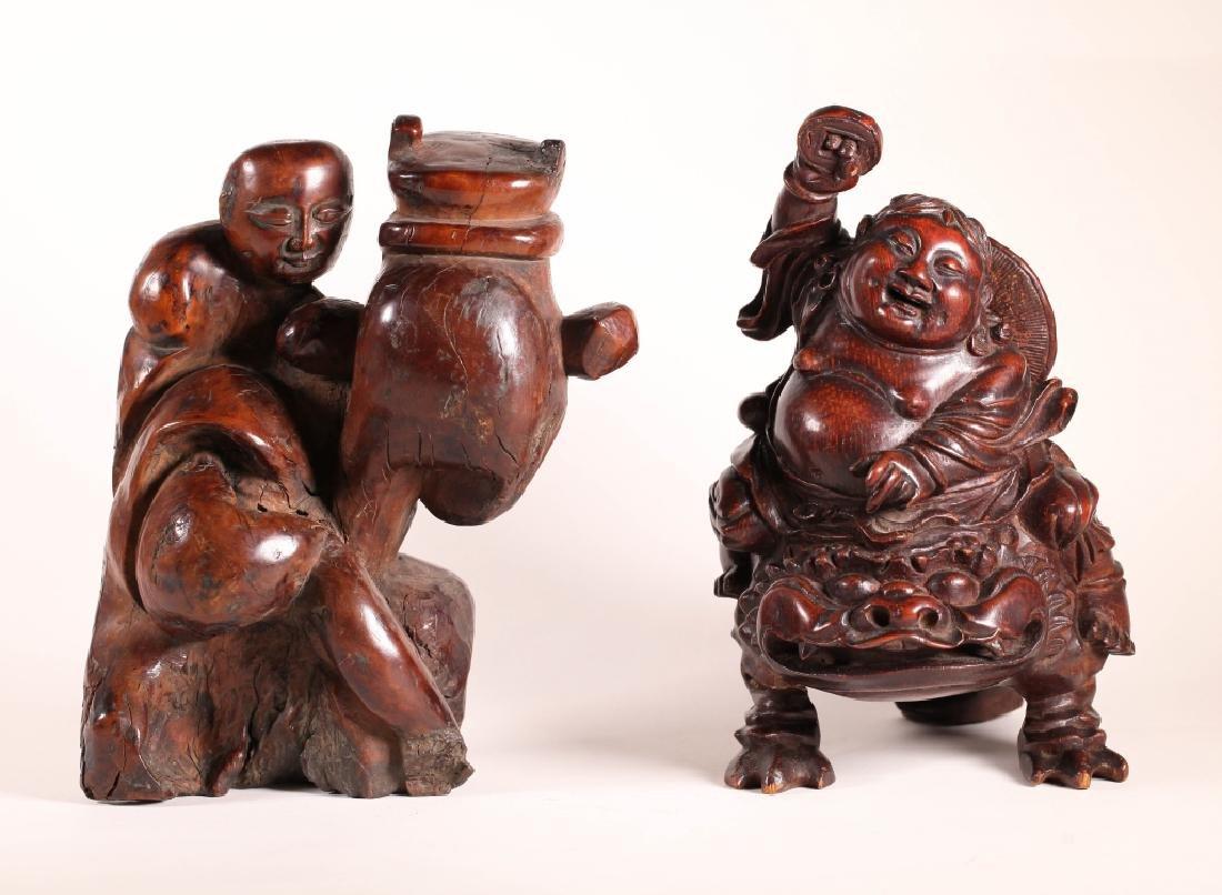 Chinese Bamboo Carving Liuhai & Root Carving