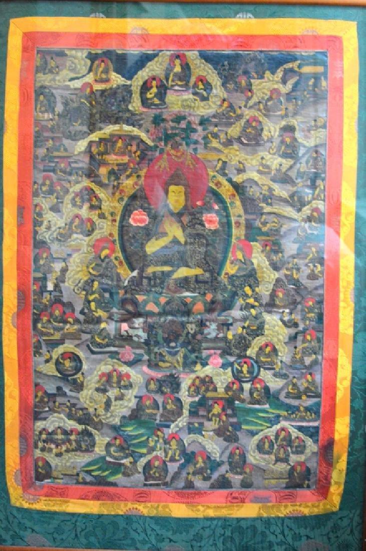 Tibetan Lama Thangka