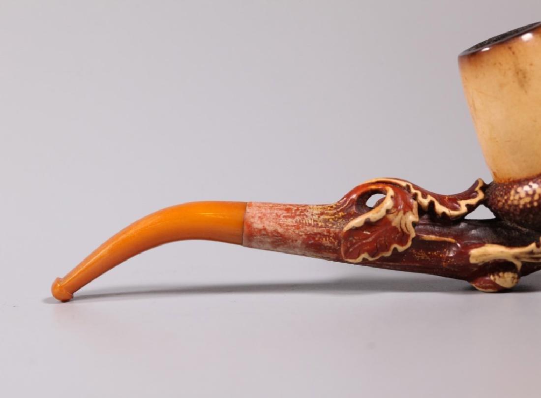 Au Pacha, Paris; 19 C Carved Meerschaum Pipe - 7