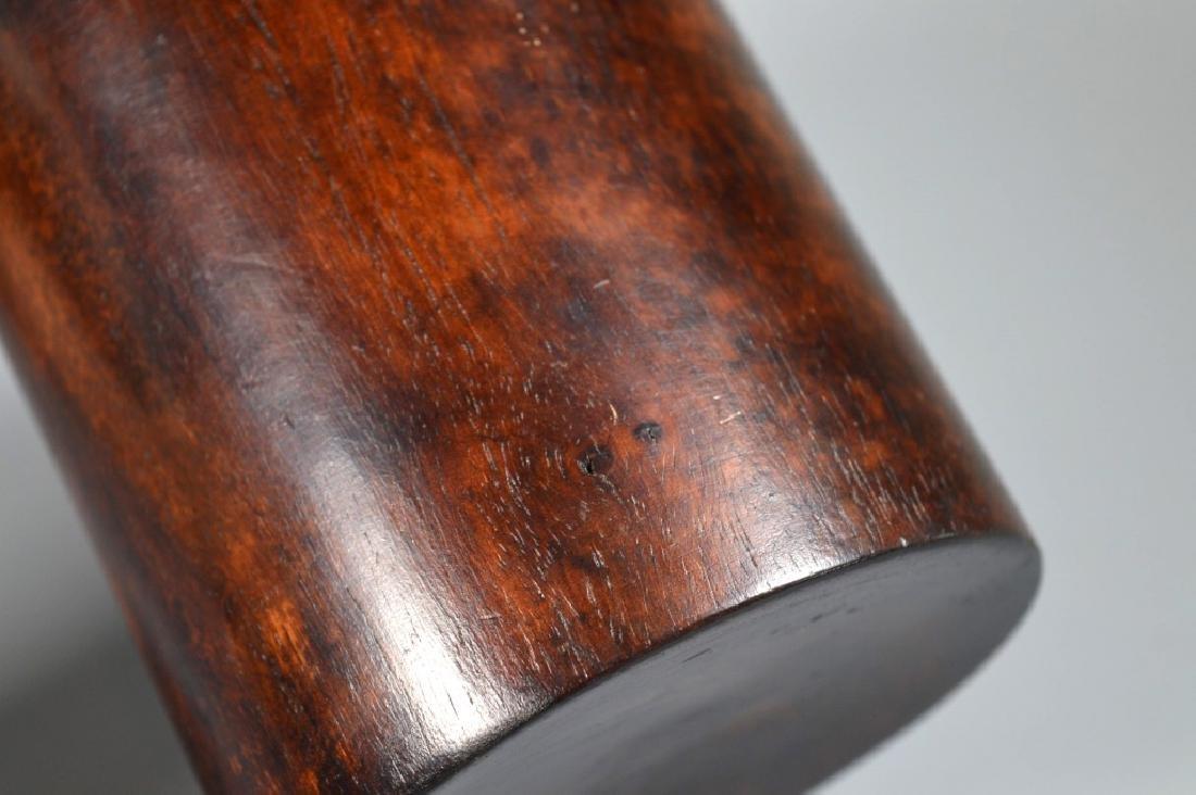 Bonham's: Chinese Huanghuali Brush Pot - 5