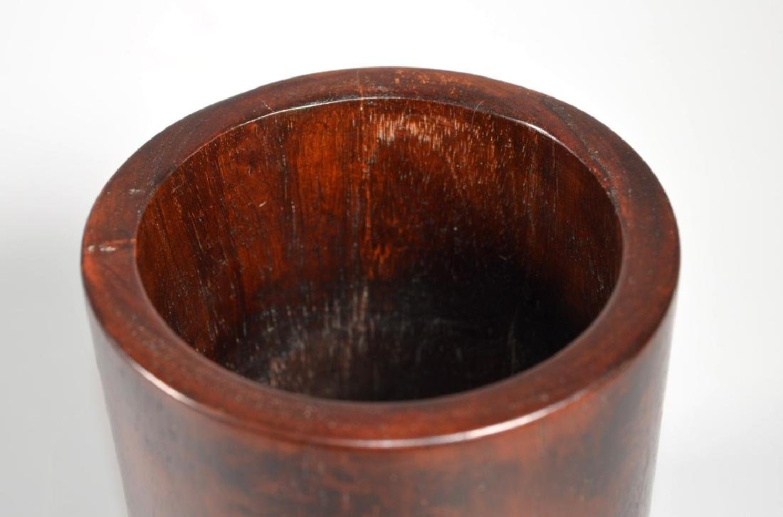 Bonham's: Chinese Huanghuali Brush Pot - 6