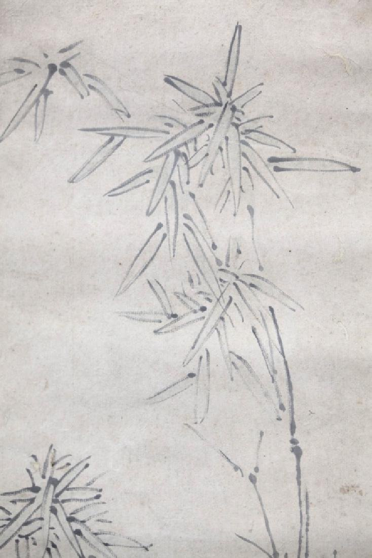 Chinese Painting on Paper; 2 Scholars in a Garden - 3
