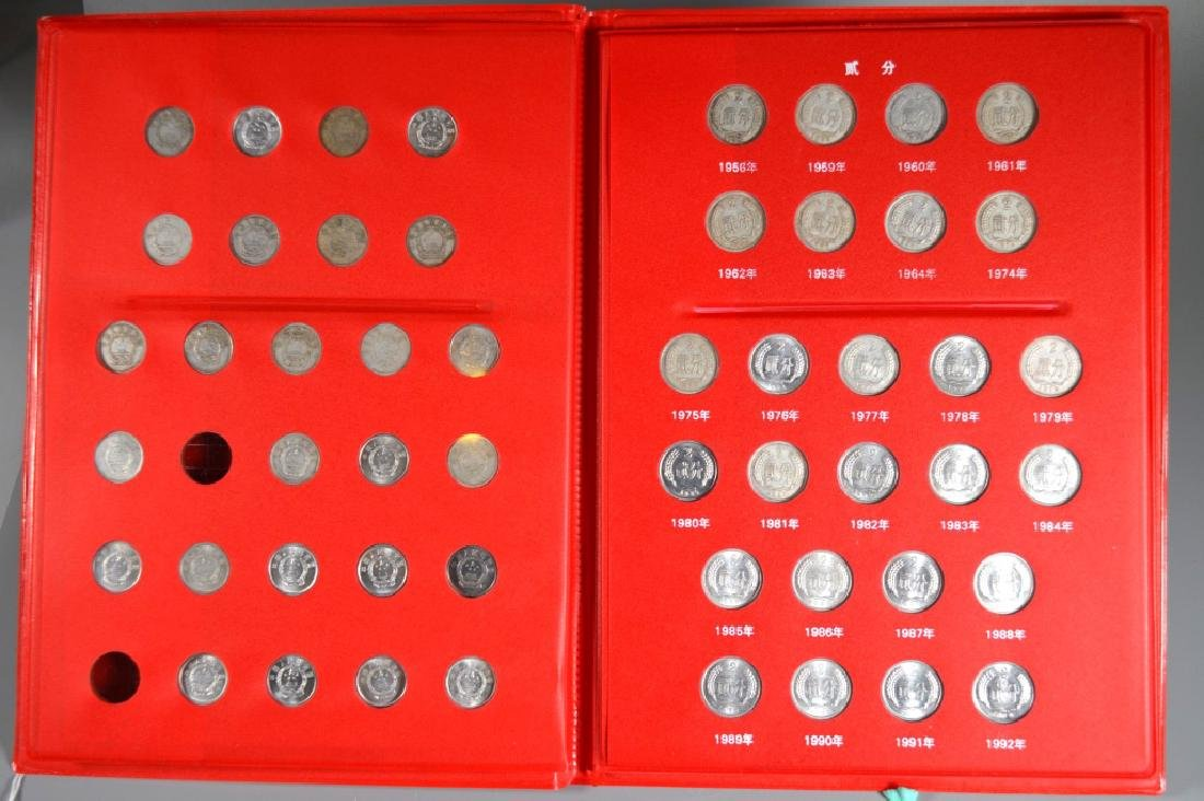 Three Page Coin Book for PRC 1955-2015 - 3