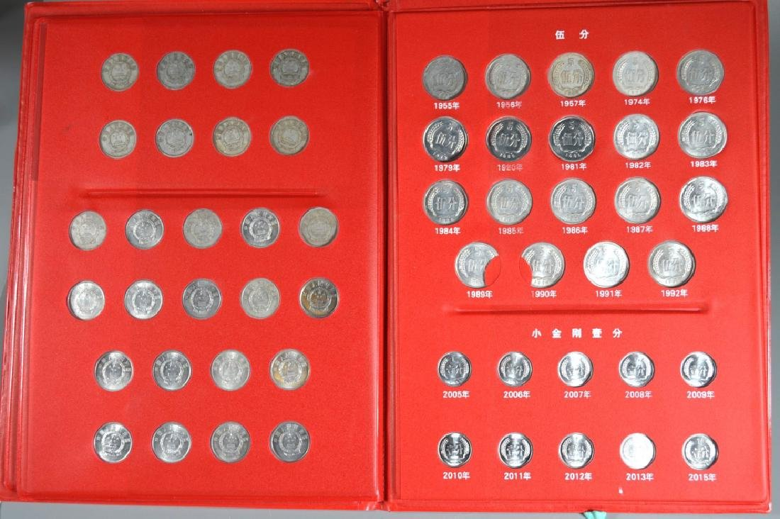Three Page Coin Book for PRC 1955-2015 - 5
