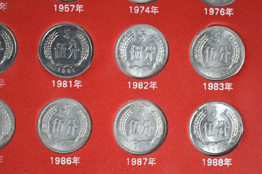 Three Page Coin Book for PRC 1955-2015 - 6