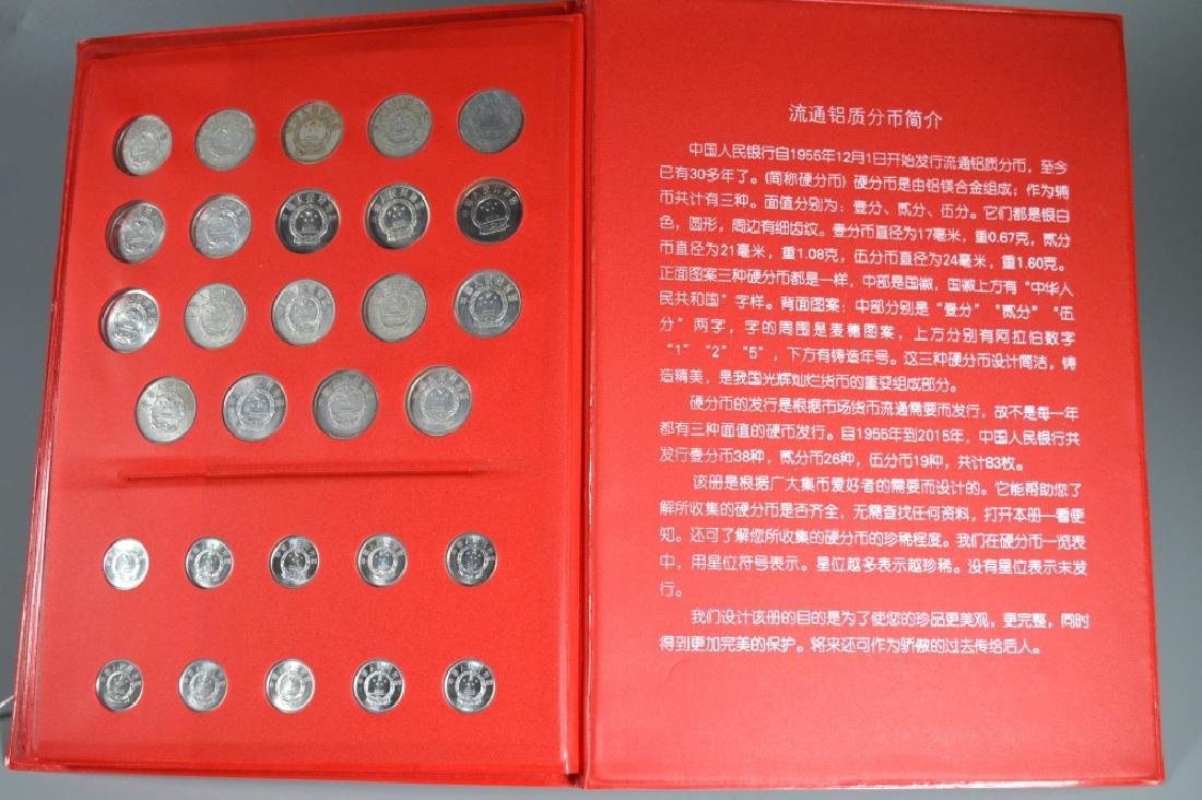 Three Page Coin Book for PRC 1955-2015 - 7