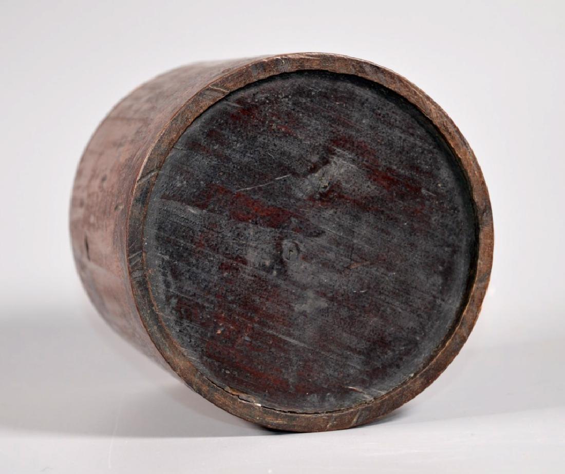 Chinese Hardwood Brush Pot - 4