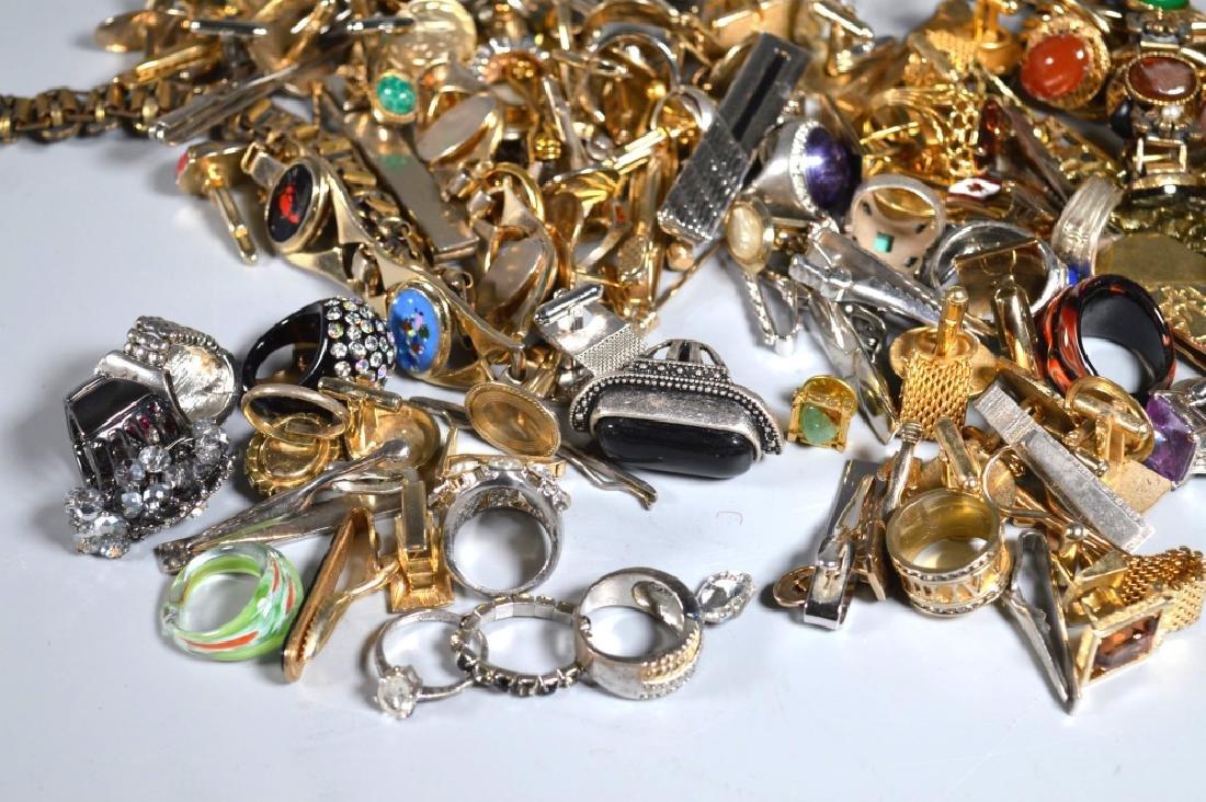 Group Jewelry: Cufflinks Tiebars Rings Bracelets - 5
