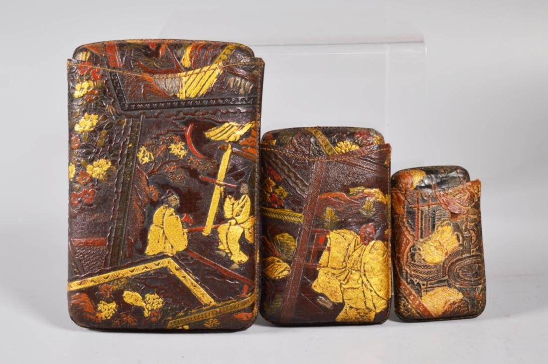 19 C Aesthetic Japanese Leather Cigarette Cases