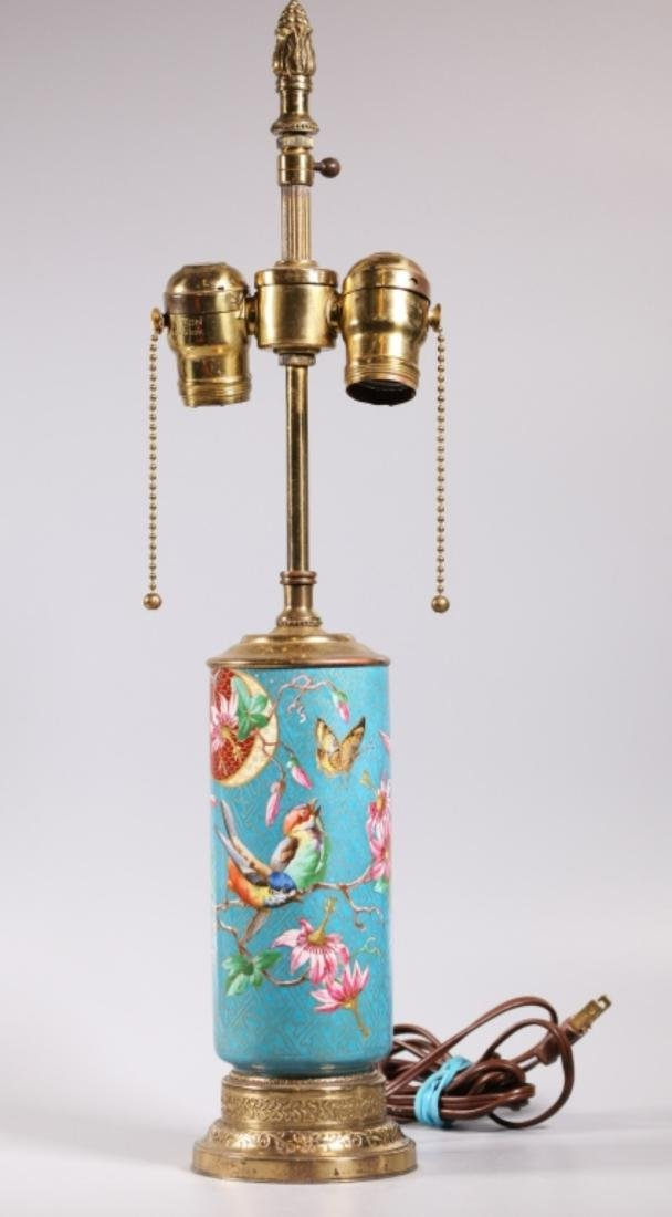 "French Porcelain ""Cloisonne"" Aesthetic Vase"