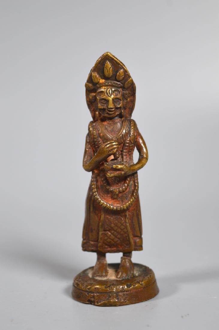 Tibetan 18th/19th Century Dakani Bronze