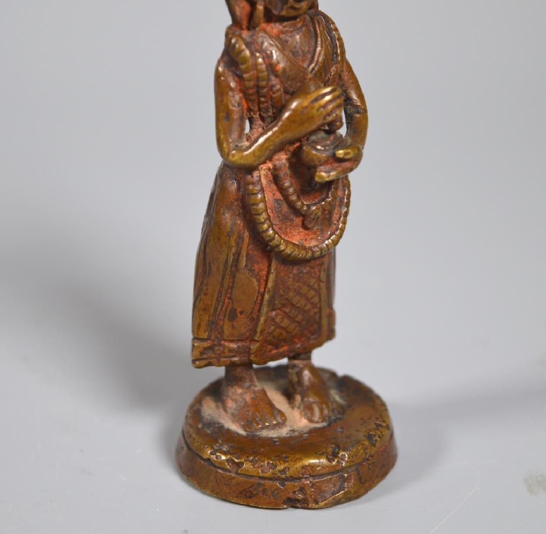 Tibetan 18th/19th Century Dakani Bronze - 4