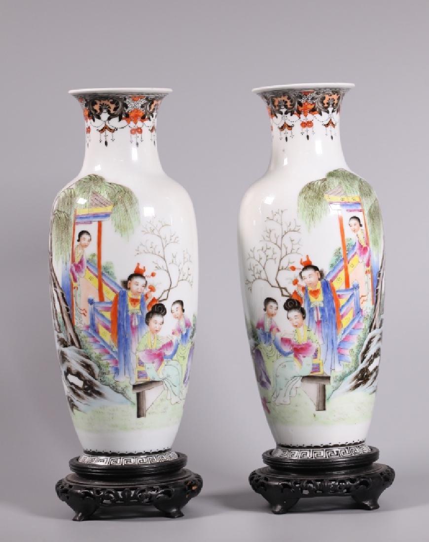 Three Chinese Enameled Porcelains - 2