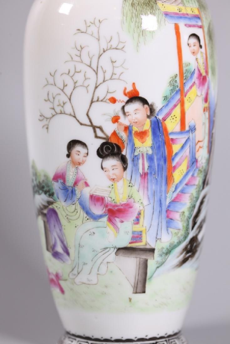Three Chinese Enameled Porcelains - 8