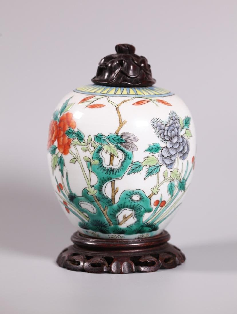 Three Chinese Enameled Porcelains - 9