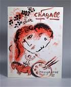 Marc Chagall' Lithographe #3; 1969 Original Litho